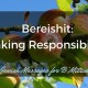 Bereishit bar bat mitzvah parent speech - taking responsibility