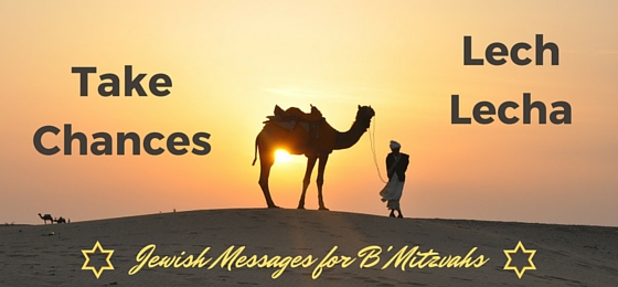 Lech Lecha message for bar bat mitzvah parent speech