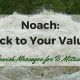 Bar Bat Mitzvah Parent Speech Message for Noach-Stick to Your Values